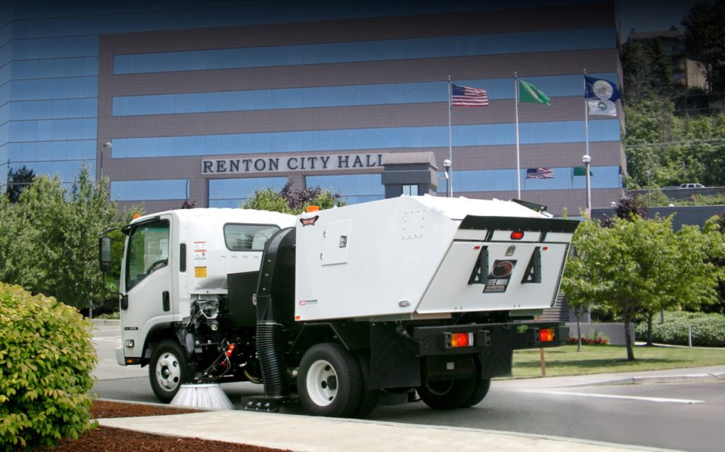 Atlanta Parking Lot Sweeping and Construction Sweeping Specialists